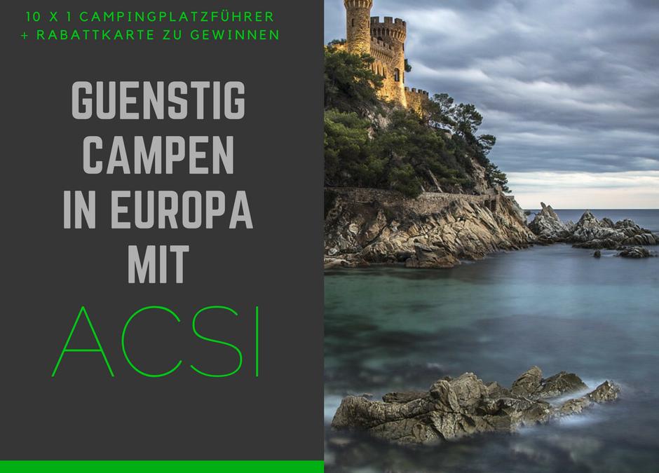 ACSI Campingführer und Rabattsystem – Gewinnspiel & Informationen