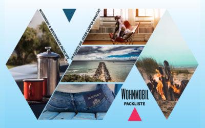 Wohnmobil Packliste – Produkte die jeder Camper an Board haben sollte