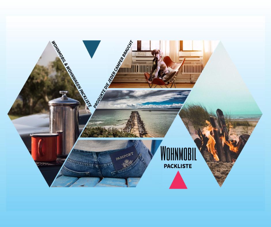 Wohnmobil Packliste - Hilfe für Neu-Camper und Anfänger