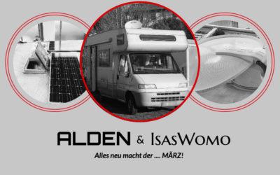 ALDEN und IsasWomo – Alles neu macht der … MÄRZ!