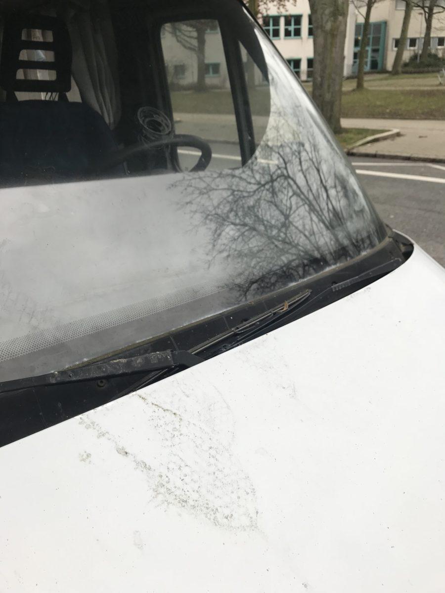 Vandalismus am Wohnmobil