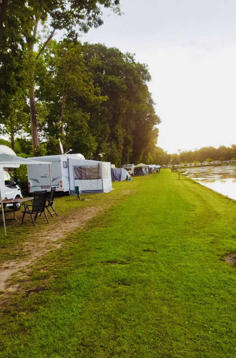 Campingplatz in Nord- Belgien