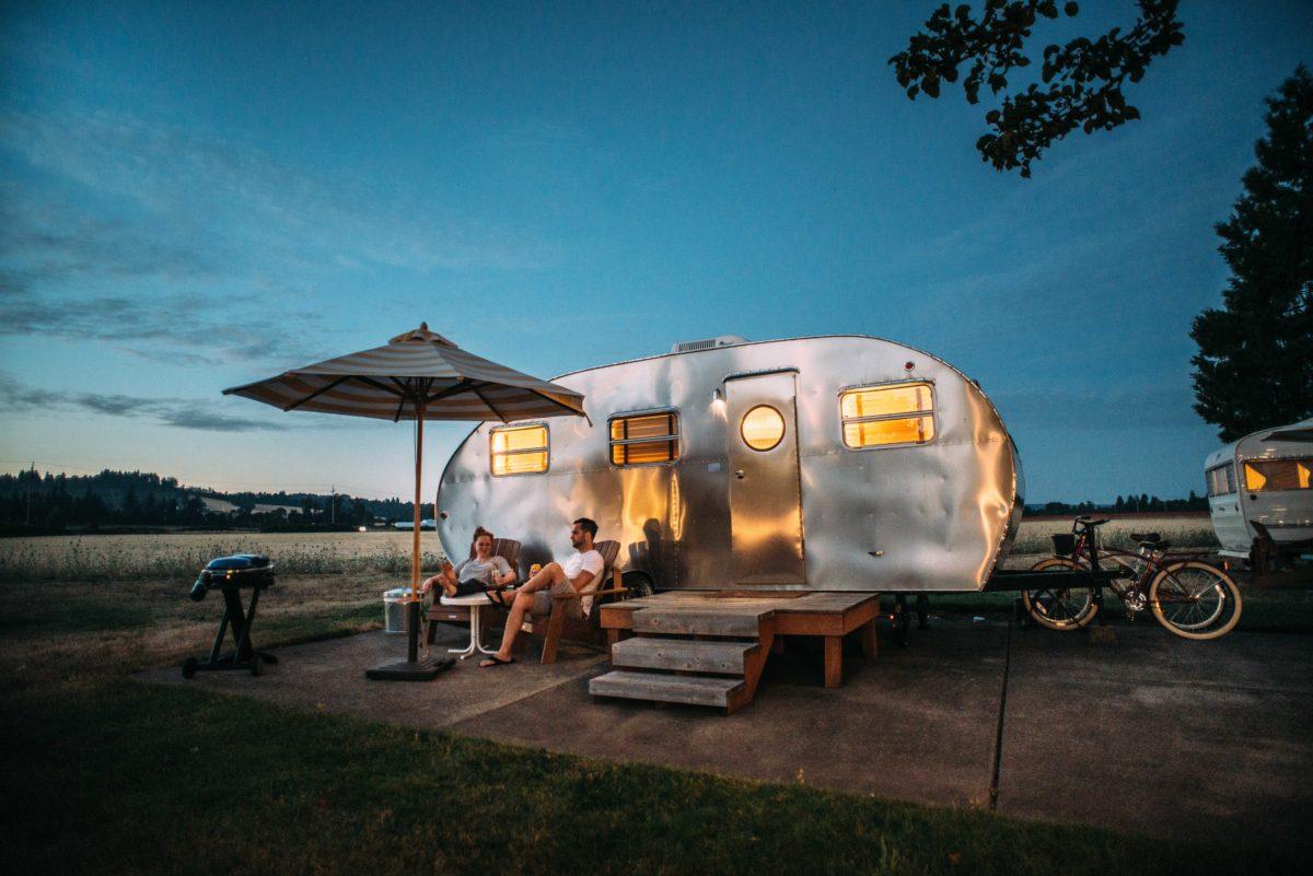 Mit dem Wohnmobil auf Stell- und Campingplätzen.