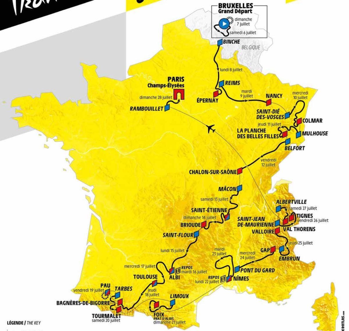 Bücher Das Gelbe Trikot Alle Fahrer Fakten Tour de France Geschichte Strecken Buch Book