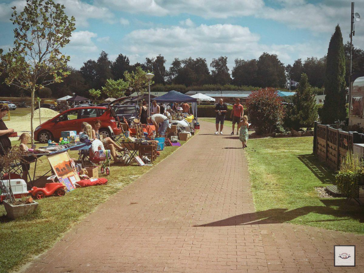 Camping Flohmarkt