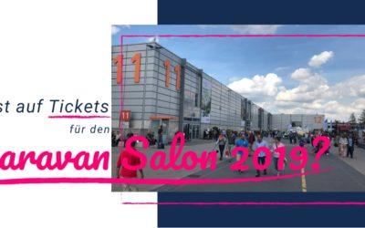 Caravan Salon  – Tickets gewinnen mit ALDEN und IsasWomo