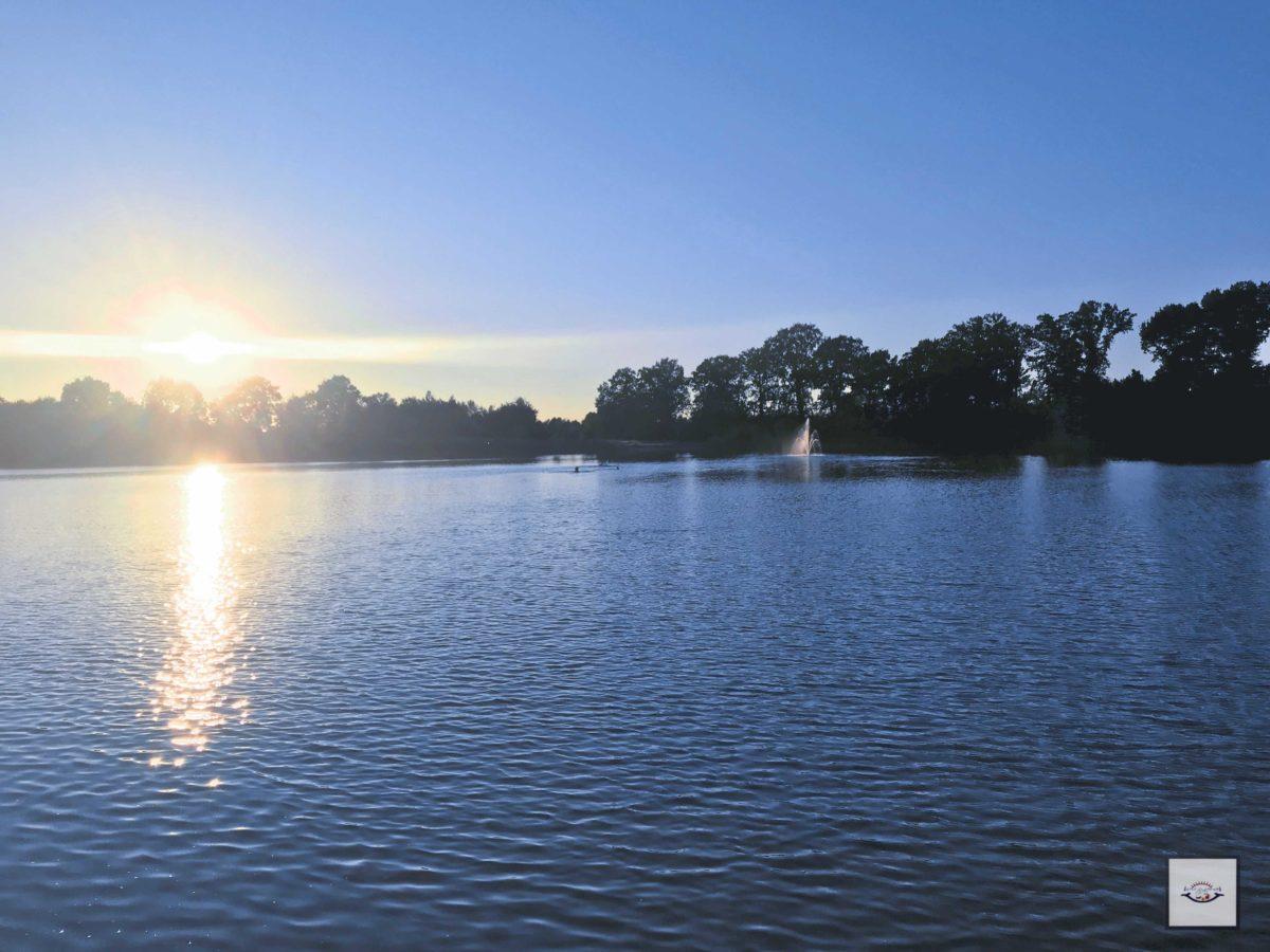 Morgens früh hatten wir den See fast für uns allein