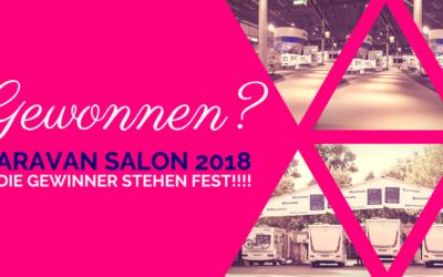 Die Gewinner der Caravan Salon Verlosung von Alden & IsasWomo