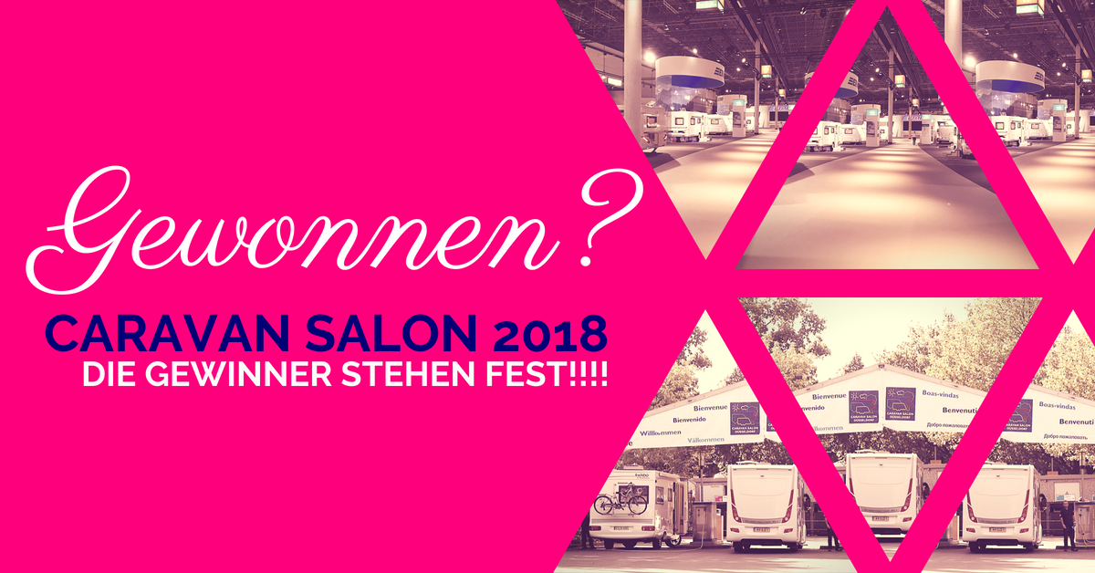 Gewinner Caravan Salon Tickets