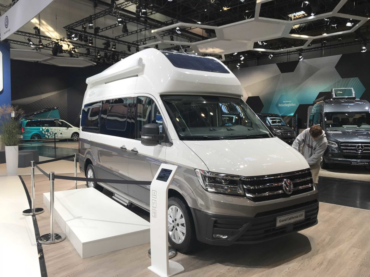 VW Craftr auf dem Caravan Salon 2018