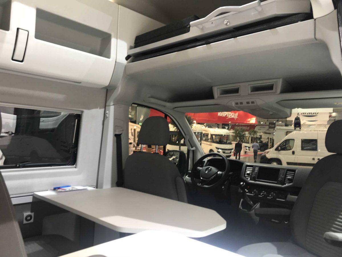 VW Crafter XXL auf dem Caravan Salon 2018