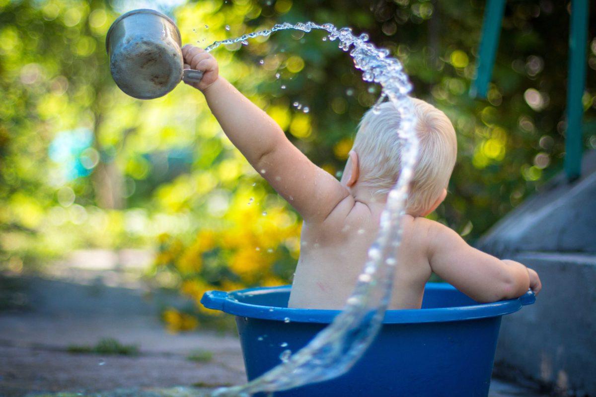 Kostenlose Duschen beim Camping