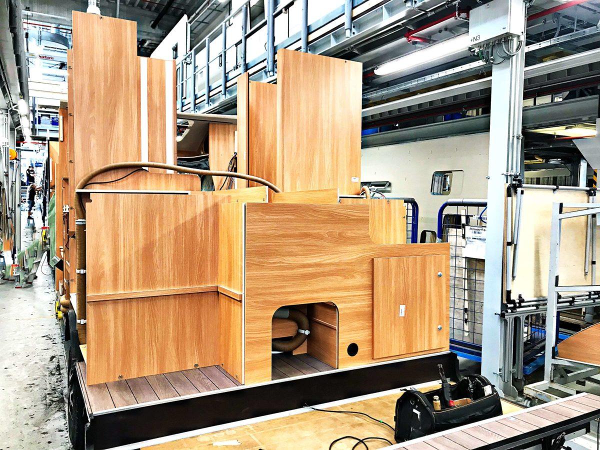 Wie wird ein Wohnmobil gebaut?