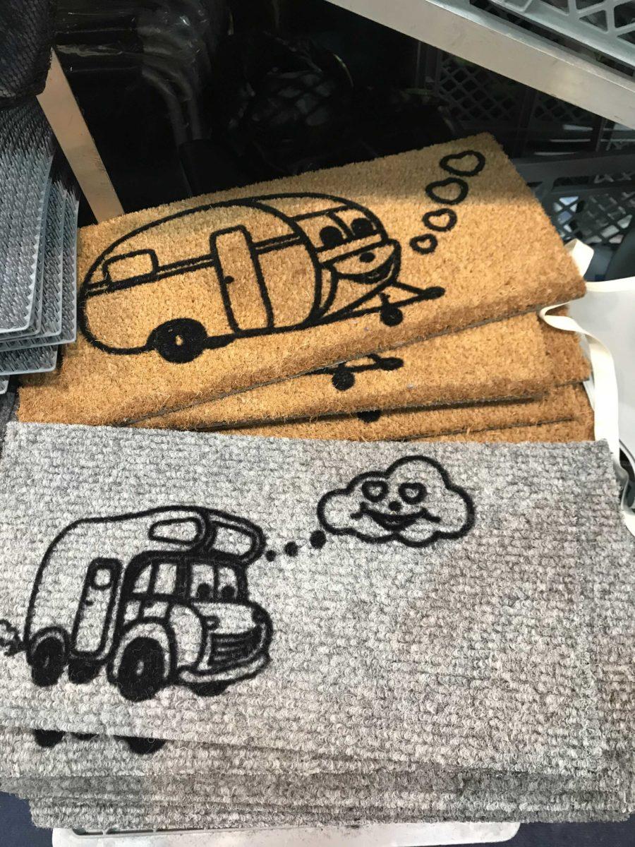 Fussmatten für Wohnmobile und Wohnwagen