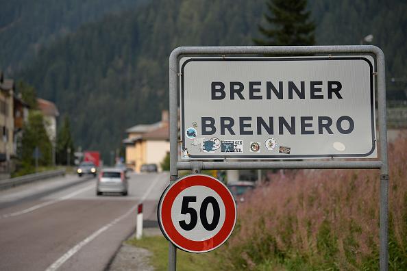 Mit dem Wohnmobil über den Brenner
