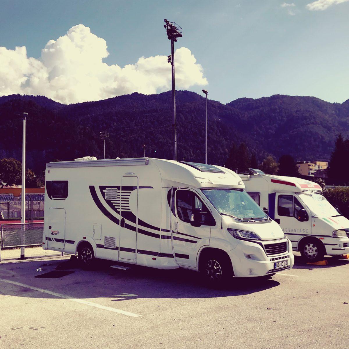 Stellplatz Kufstein, meine Wohnmobil Herbst Tour durch die Alpen