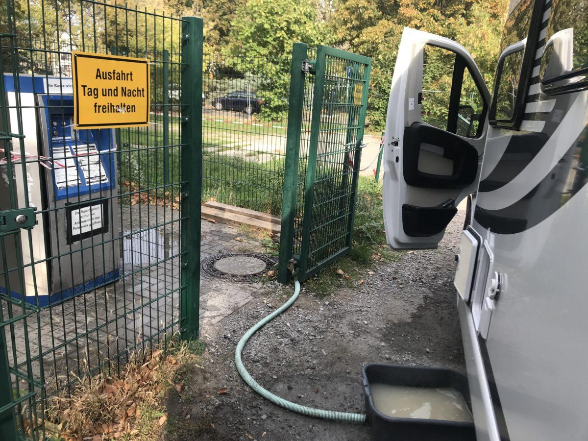 Entsorgung Wohnmobil Stellplätze Dresden