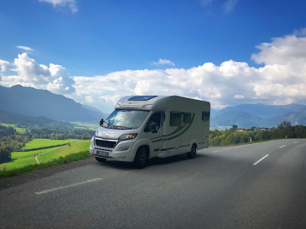 OrangeCamp Wohnmobil Tour durch die Alpen