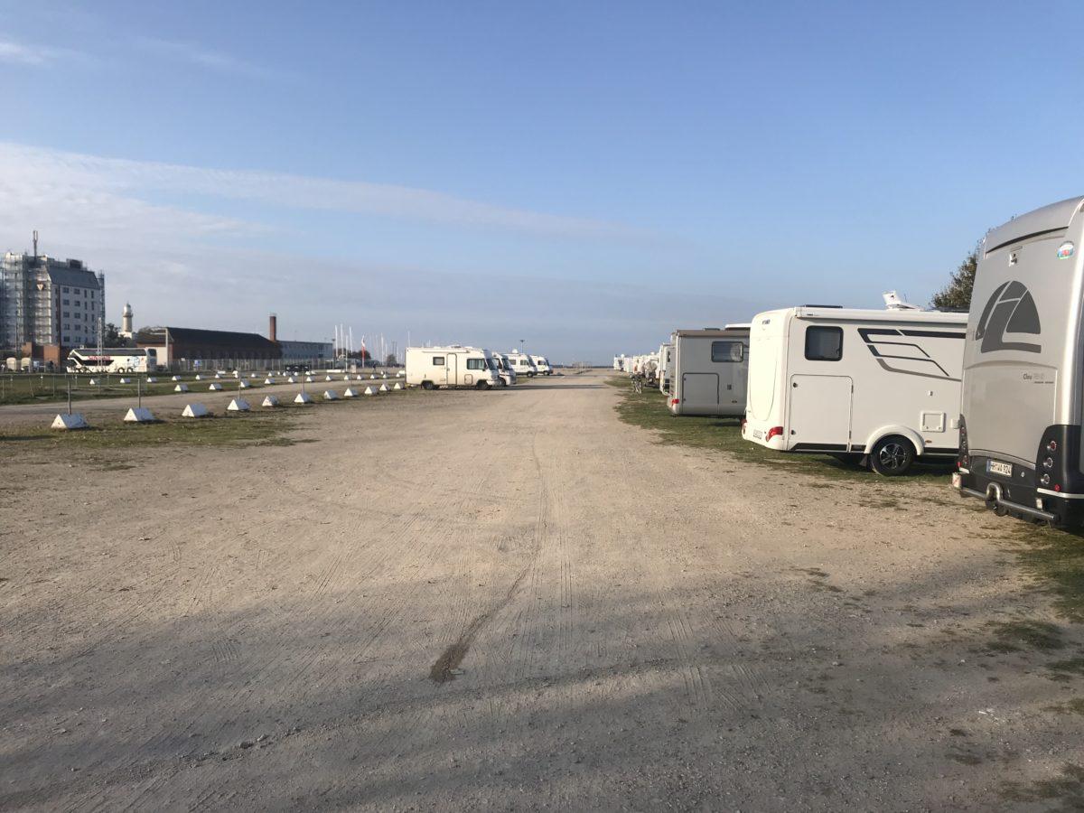 Stellplatz Warnemünde Wohnmobil Ostsee