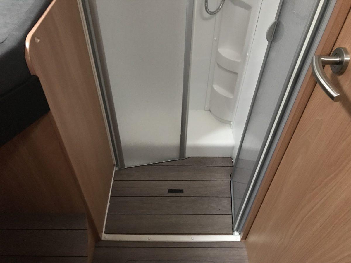 Duschen im Wohnmobil
