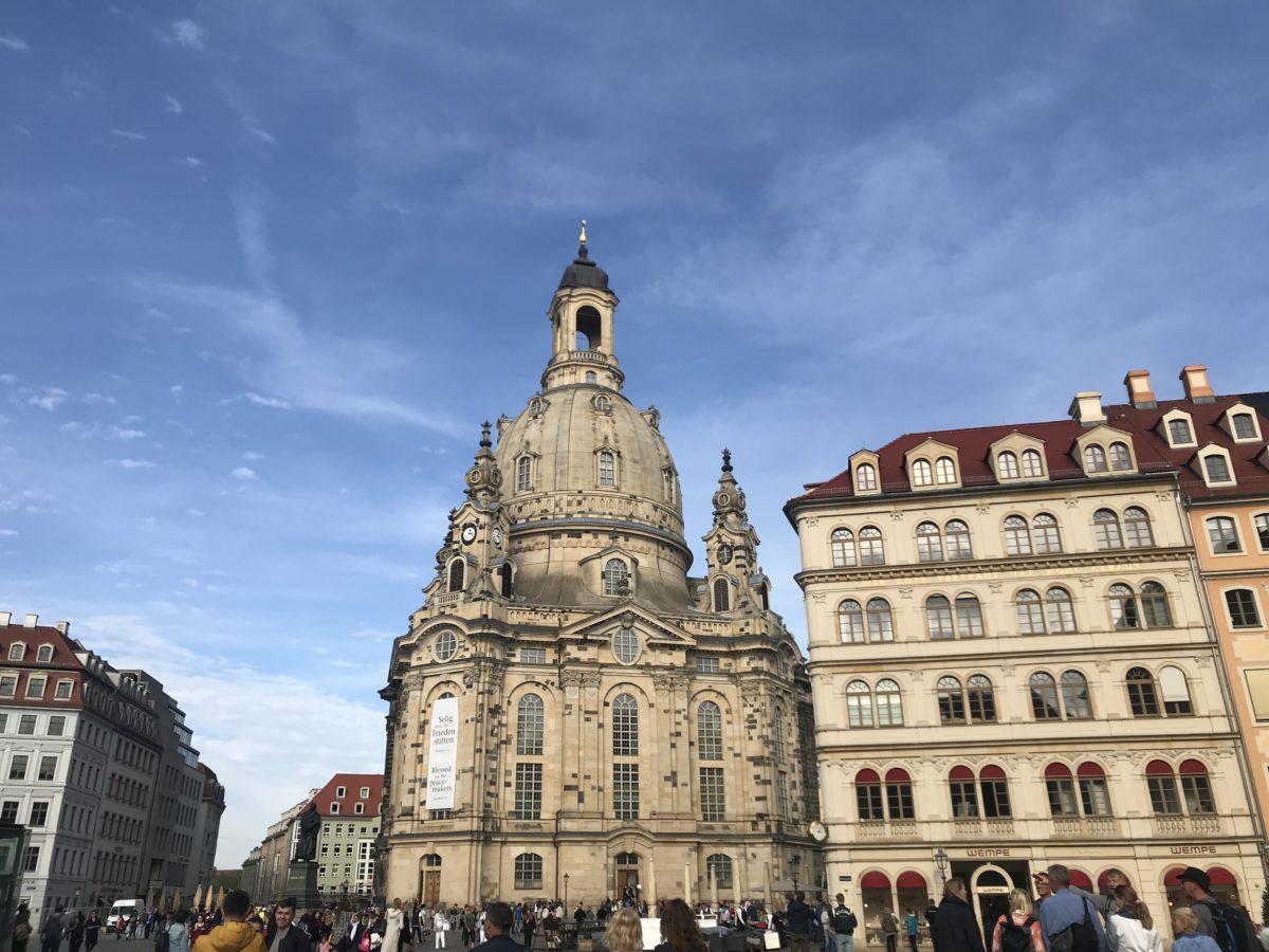 Wohnmobil Dresden Frauenkirche