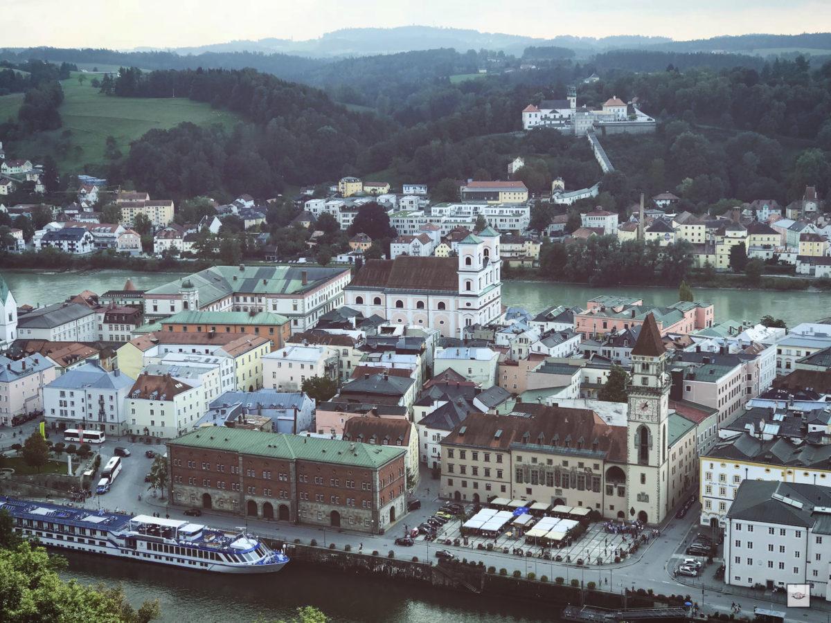 Passau im Herbst auf der OrangeCamp Wohnmobil Tour