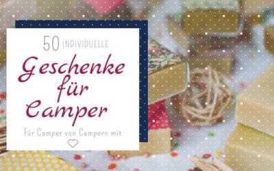Geschenke für Camper – 50 Geschenkideen für Camper, Abenteurer & Reisende