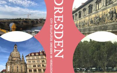 Die City Stellplätze Dresden im großen Vergleich