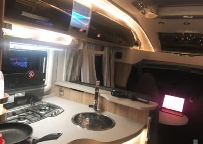 Küchenblock Reisemobil