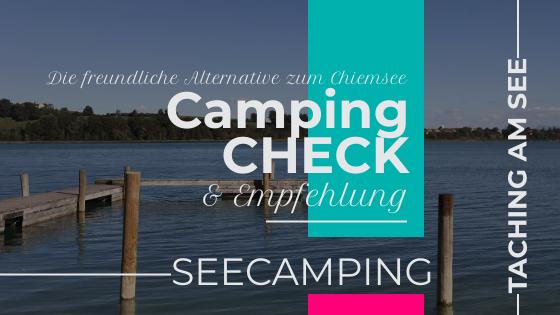 """Campingplatz """"Seecamping"""" Taching am See"""