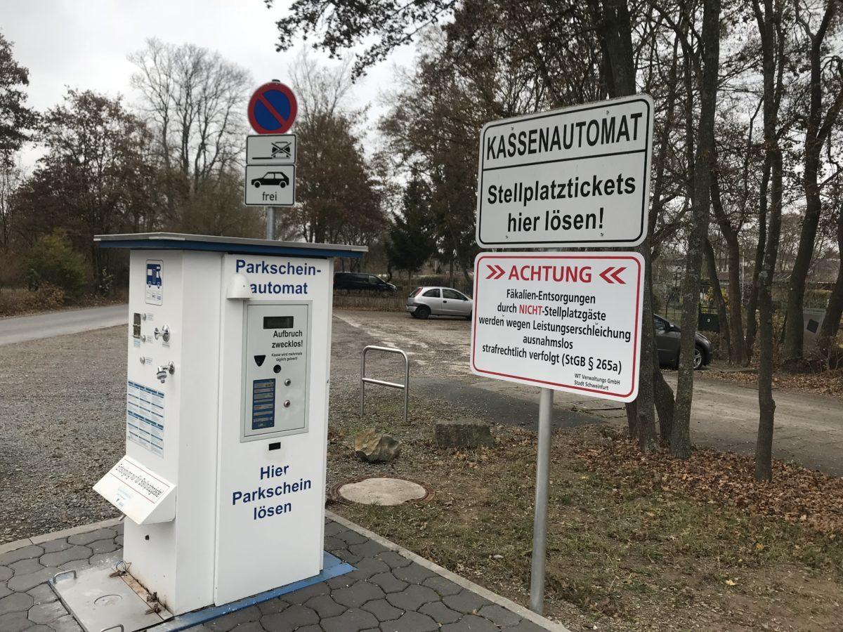Stellplatz Schweinfurt