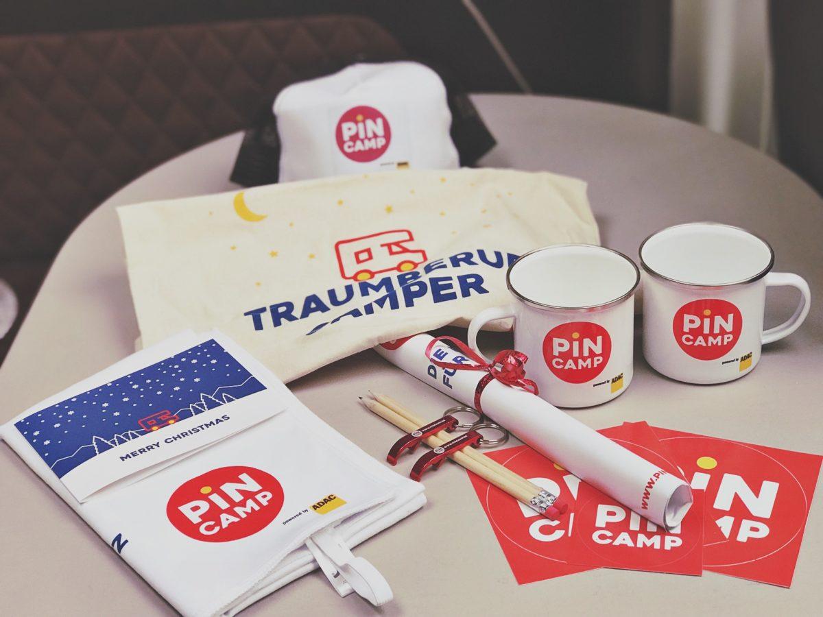 PinCAMP Starter Paket gewinnen