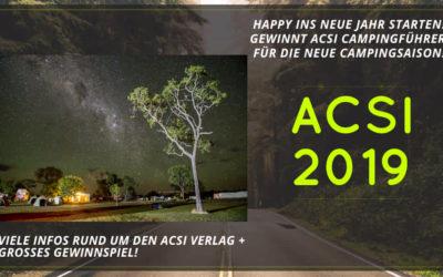 ACSI Camping Karten 2019 – Gewinnt die Camping Rabattkarte für die neue Saison