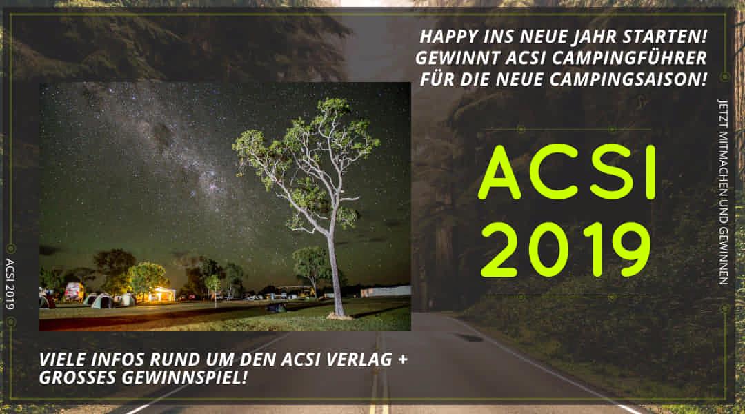 ACSI Camping Karte Infos, Preise und Gewinne