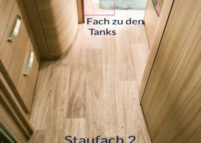 Doppelboden Staufächer