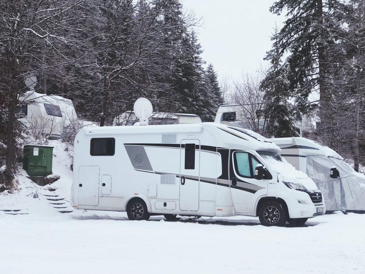 Wintercamping im Knaus Sun TI