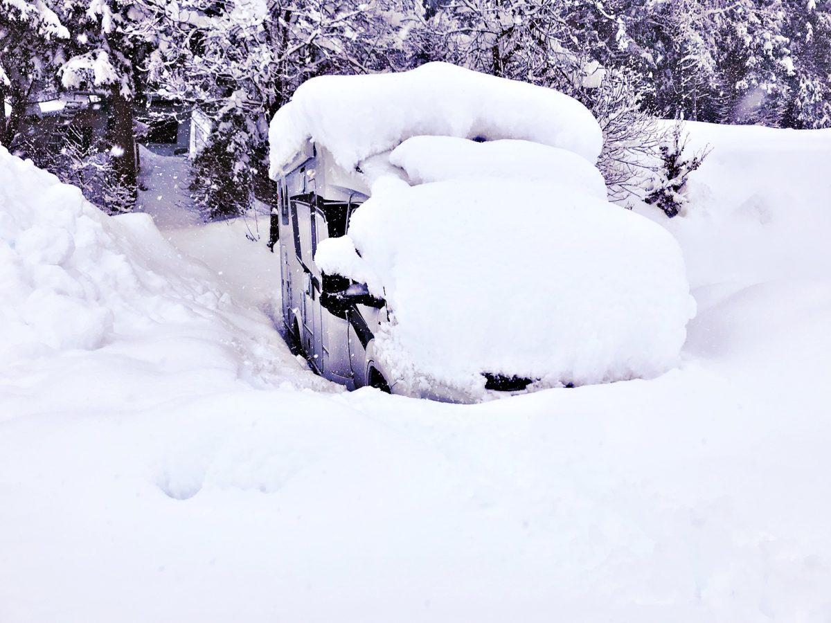 Wintercamping mit Knaus Wohnmobil