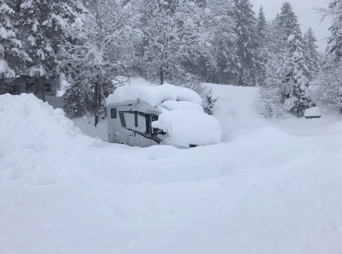 Wintercamping im live check