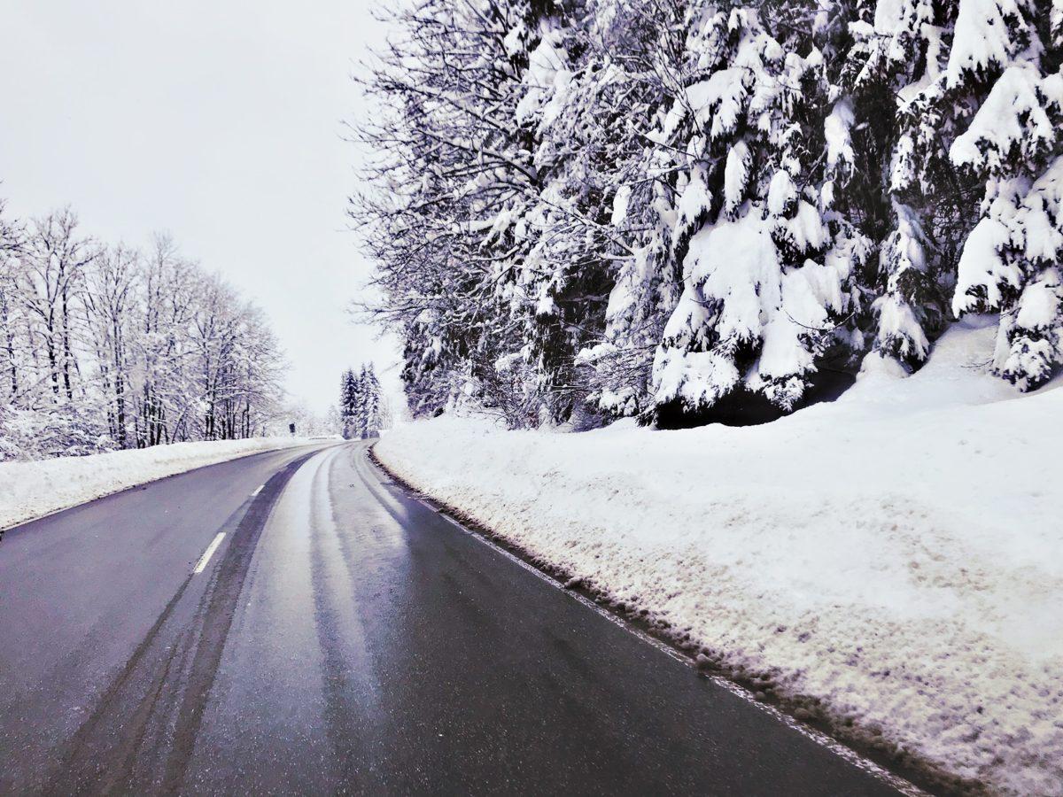 Wintercamping Strassenverhältnisse