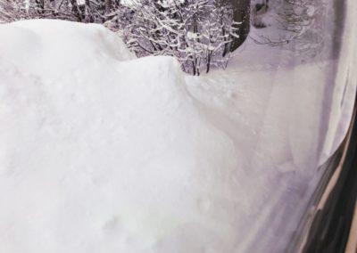 Wintercamping im Schnee