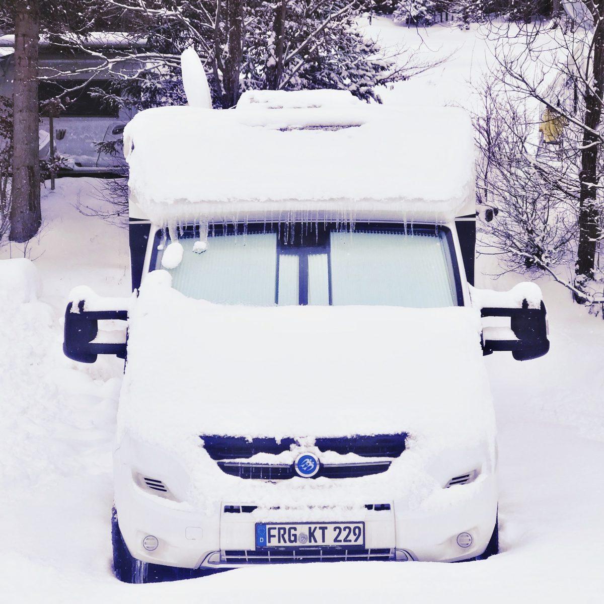 Winterfestes 3,5 Tonnen Reisemobil