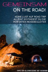 Camping zu zweit - Mitreisende als Alleinreisende suchen