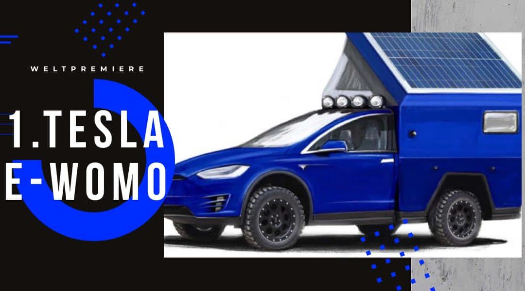 Tesla E Wohnmobil
