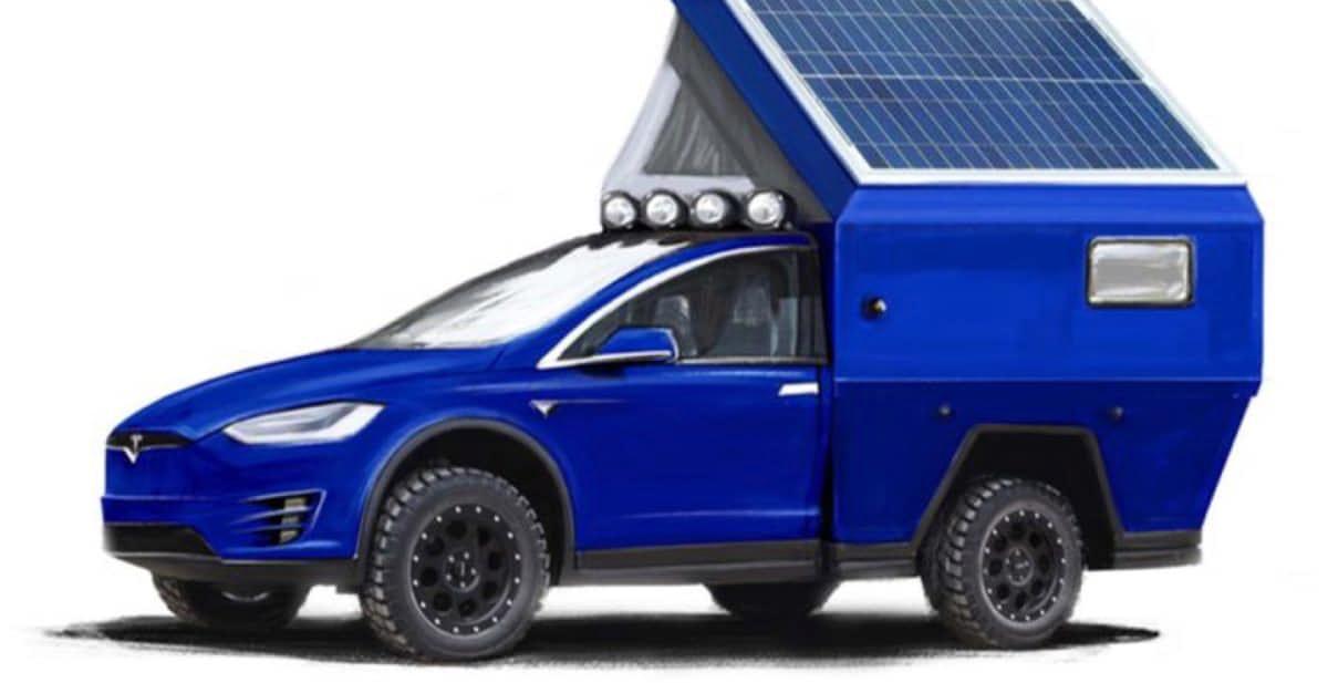 Roamer Tesla's erstes E-Wohnmobil