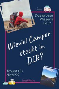 Das Camper Quiz
