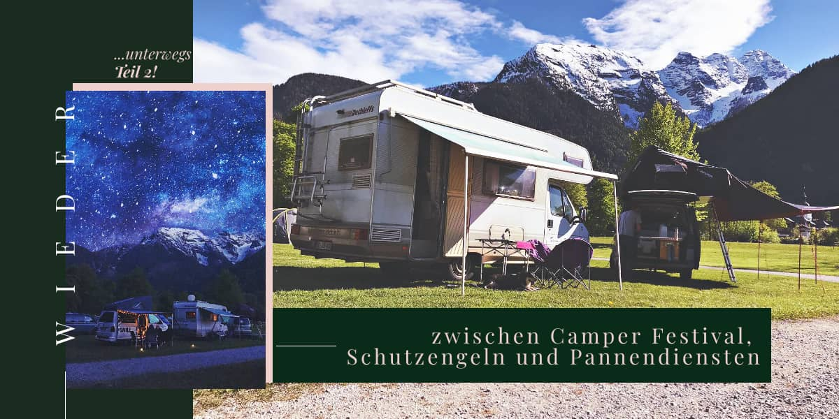 Allein von the Road, Gates of Summer, Österreich und die Alpen