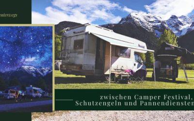 Camper Festival, Schutzengel und Pannendienste – Isa wieder on Tour