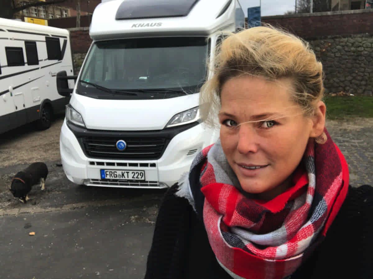 Allein mit dem Wohnmobil in Europa von Tour - IsasWomo