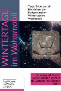 Winter im Wohnmobil und Wohnwagen