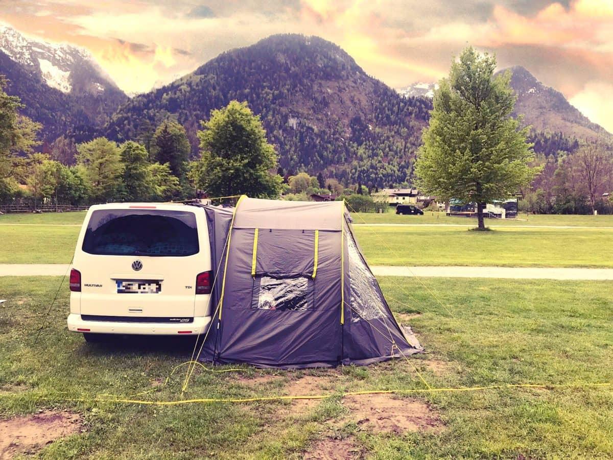 Allein on the Road, beim Camper Festival in Österreich